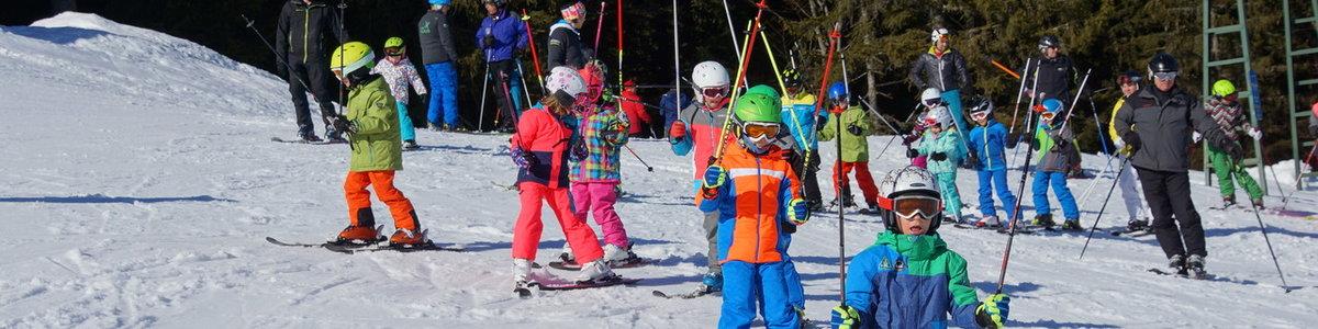 Kids Aktiv Skifahren 6-9jährigen