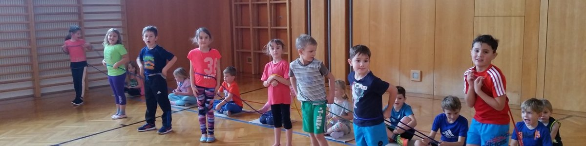 Kids Aktiv Turnen der 6-12jährigen in KNOPPEN!!