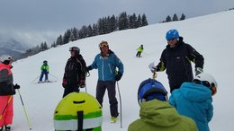 "Erster Skitag am 9.12.2017 ""Kids aktiv im Schnee"""