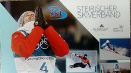 Sportlerehrung des Steirischen Skiverbandes am Dorfplatz in Tauplitz